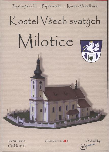 012a   *    Kostel vsech svatych Milotice(1:150)   *   Ondr Hejl   *   0513