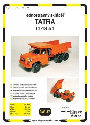037   *   TATRA  T148  SI(1:32)   *  RW
