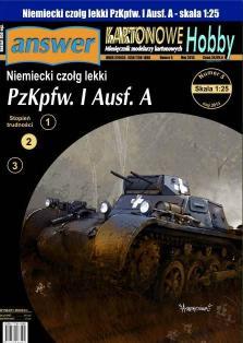 039   *   6/13   *  PzKpfw. I  Ausf. A(1:25)   *   Answer  KH