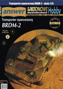 044  *   11/13   *   Transporter opancerzony BRDM-2(1:25)   *   Answer KH