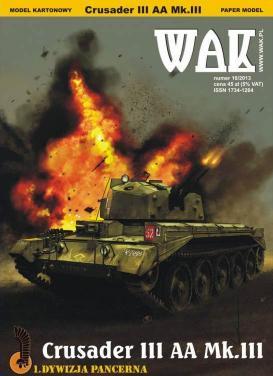 WAK-099   *  10\13   *   Crusader  III  AA  Mk.III(1:25)