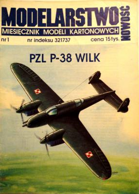 PZL P-38 Wilk       *      NEW