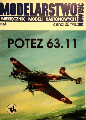 04    *   Potez 63.11        *      NEW