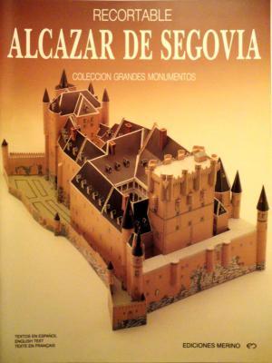 02      *      Alcazar de Segovia    1:300       *      MERINO