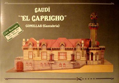 """Gaudi """"El Capricho""""  *  LIBRO"""