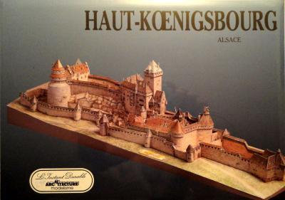 17      *      Haut -Koenigsbourg - Alsace 1:400     *     L' INST  DUR