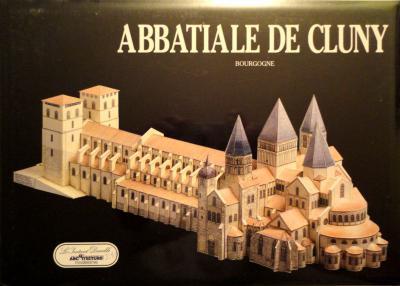 18     *     Abbatiale de cluny - Bourgogne 1:300    *    L' INST  DUR
