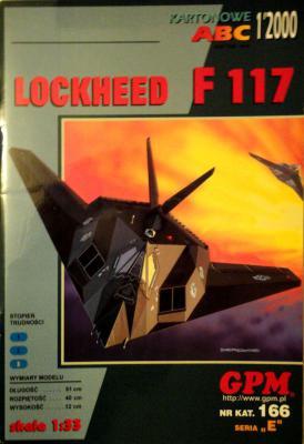 GP-083  *   1\00\166    *      Lockheed F 117 (1:33)