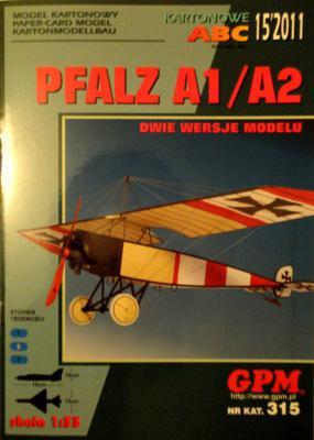 GP-289    *      15\11\315     *     Pfalz A1/A2 (1:33)