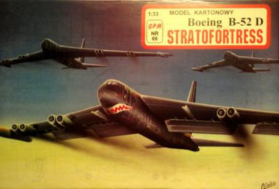 066 * Boeing B-52 D Stratofortress (1:33)      *     GPM-ct