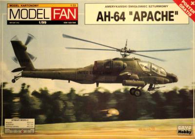 13      *   1\99   *    AH-64 Apache (1:33)      *      M-FAN