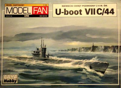 03       *    3\98    *    U-Boot VII C/44 (1:100)       *      M-FAN