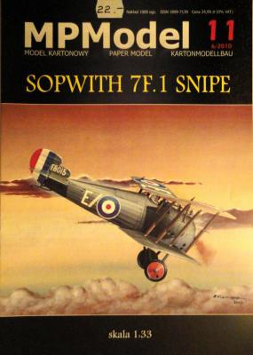 11           *             Sopwith 7F.1 Snipe (1:33)        *      MP
