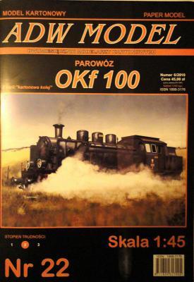 ADW-022   * Parowoz OKF100 (1:45)