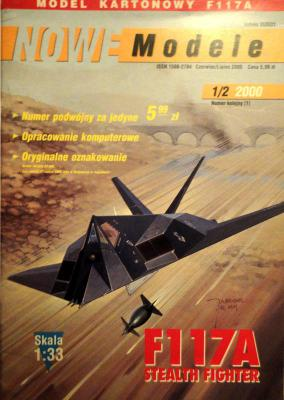 F117A Stealth Fighter (1:33)       *      NOWE