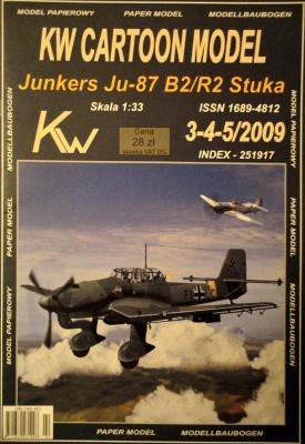Junkers JU-87 B2/R2 Stuka (1:33)      *     KW