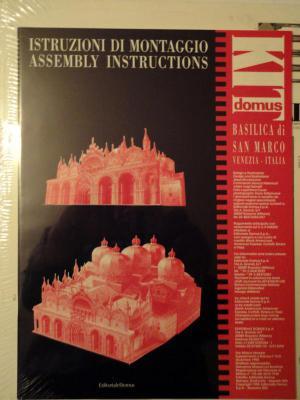 002    *   Basilica di San Marco - Italia   1:200   *   KIT DOMUS