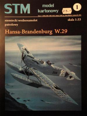 01          *              Hansa-Brandenburg W.29 (1:33)       *     STM
