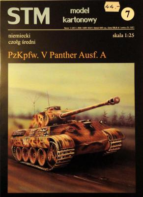 07             *                  Pz.Kpfw. V Panther Ausf.A (1:25)        *     STM