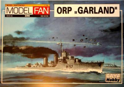 """02        *    2\98   *  ORP """"Garland"""" (1:100)       *      M-FAN"""