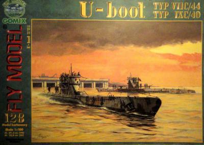 GOM-128     *    U-Boot typ VIIC/44, typ IXC/40 (1:100)