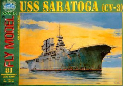 GOM-081      *       USS Saratoga (cv-3)  (1:200)