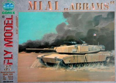 "GOM-037     *     M1A1 ""Abrams""  (1:25)"