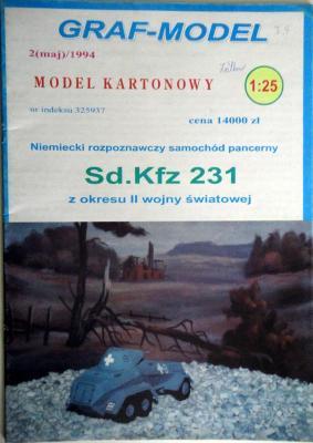 5\94      *        SdKfz 231(1:25)   *   GRAF