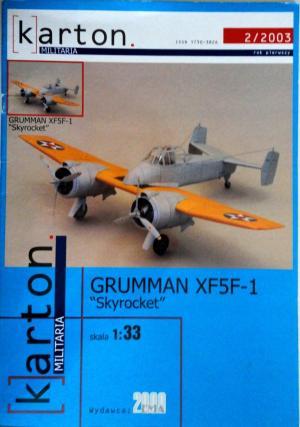 Grumman XF5F-1 (1:33)         *      EMA