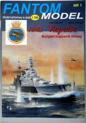 "01   *     HMS ""Repulse"" (1:300)      *     Fant M"