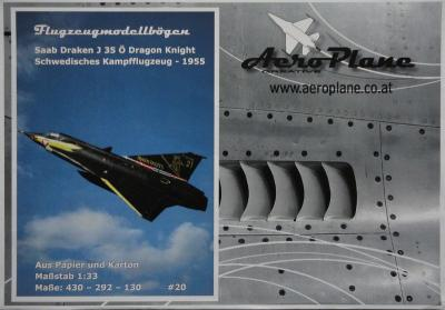 20        *          Draken J35 O Dragon Knight (1:33)   *   AEROPLANE
