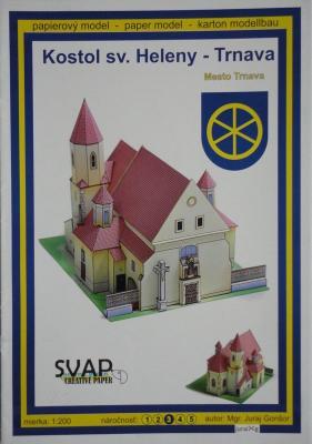 002   *  Kostol sv.Heleny-Trnava (1:200)    *    SVAP