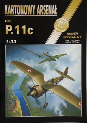 50       *     spec    *     PZL P.11c (1:33)       *      HAL