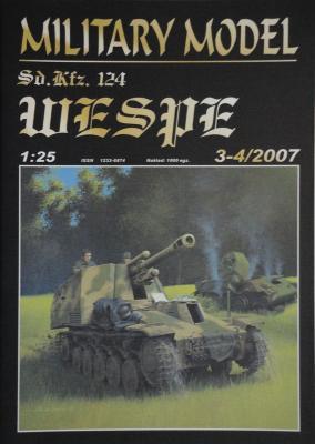 028         *     3-4\07    *    SdKfz 124 Wespe (1:25)        *       HAL *  MM