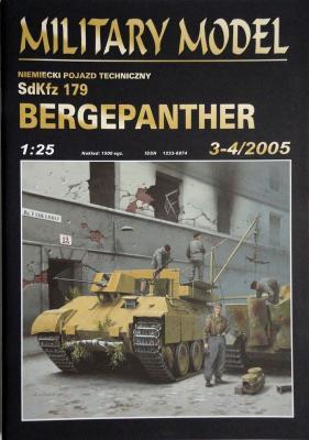021     *    3-4\05   *    SdKfz 179 Bergepanther  (1:25)       *       HAL *  MM