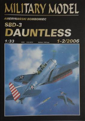 023          *     1-2\06    *     SBD-3 Dauntless (1:33)     *   +Кабина  HAL *  MM