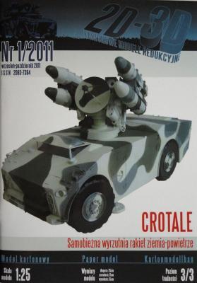 001 *  01\11     *       Crotale (1:25)       *      2D-3D