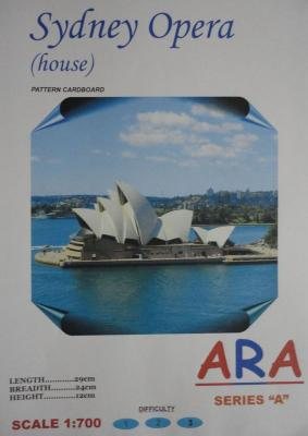 Sydney Opera (house) (1:700)      *    ARA