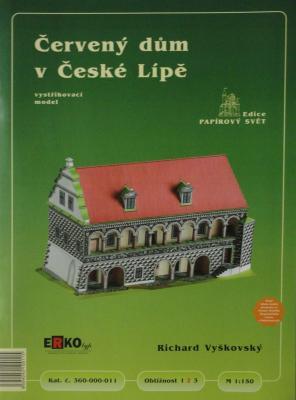 011       *       Cerveny dum v Ceske Lipe (1:150)     *    ERKO