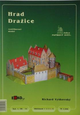 014      *        Hrad Drazice (1:200)       *     ERKO