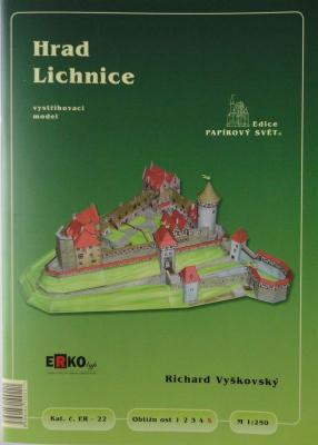022     *       Hrad Lichnice (1:250)      *     ERKO