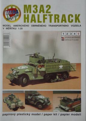 012       *        M3A2 Halftrack (1:35)    *      MEGA