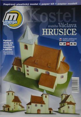 Kostel sv. Vaclava Hrusice (1:120)      *    MEGA