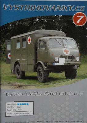 007      *      Tatra 805 Ambulance (1:32)     *    VISTR