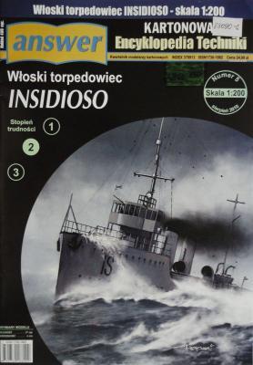031    *      5\10     *      Wloski torpedowiec Insidioso (1:200)        *      Answer  KET