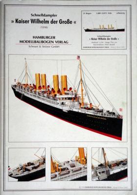 Kaiser Wilhelm der Grobe  1:250       *     HMV