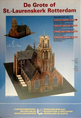 De Grote of St.-Laurenskerk Rotterdam (1:300)    *     LEONY