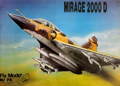 FLy-076     *     Mirage 2000D (1:25)