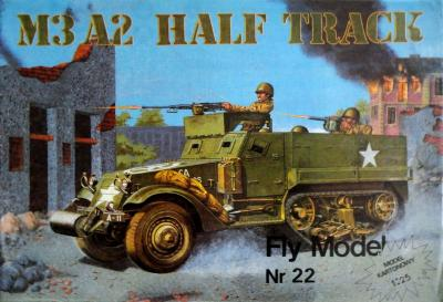 FLy-022      *      M3 A2 Half Track  (1:25)