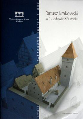 1\11     *    Ratusz krakowski w.1 polowie XIV wieku  1:200      *    MHK